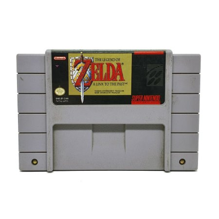 Jogo The Legend of Zelda A Link to the Past - SNES