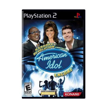 Jogo Karaoke Revolution American Idol Encore - PS2