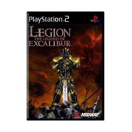 Jogo Legion The Legend of Excalibur - PS2