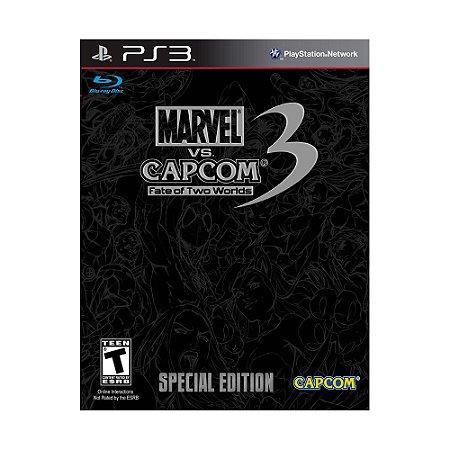 Jogo Marvel vs Capcom 3 Fate of Two Worlds Special Edition - PS3