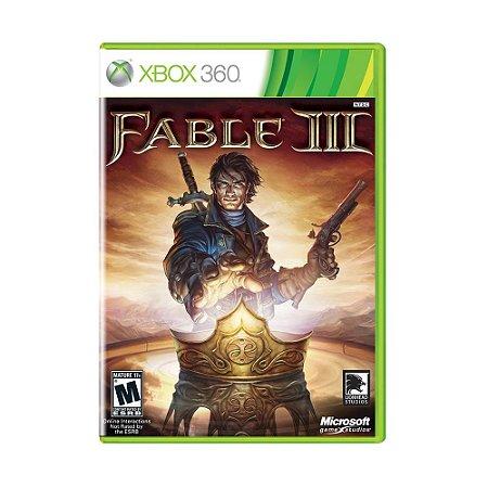 Jogo Fable 3 - Xbox 360