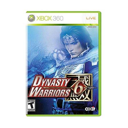 Jogo Dynasty Warriors 6 - Xbox 360