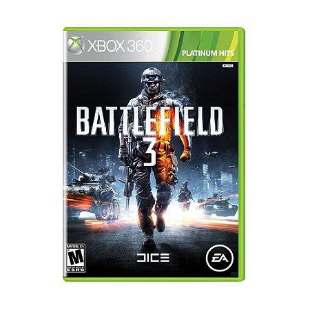 Jogo Battlefield 3 (Platinum Hits) - Xbox 360