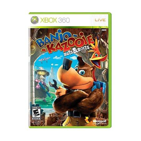Jogo Banjo Kazooie Nuts & Bolts - Xbox 360
