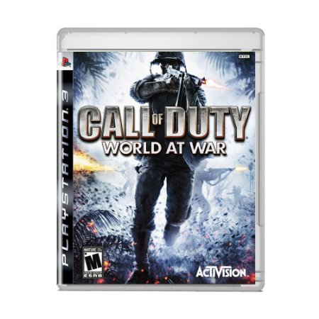 Jogo Call of Duty World at War - PS3