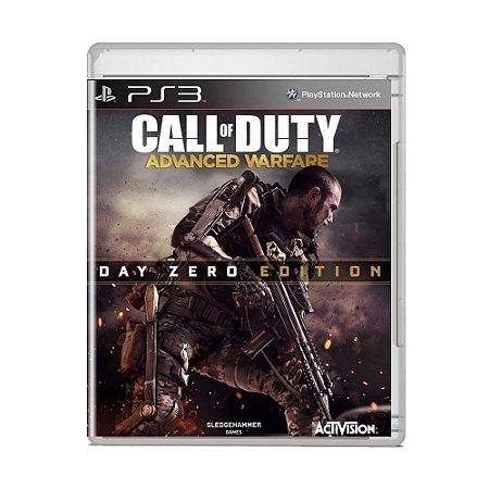 Jogo Call of Duty Advanced Warfare ( Day Zero Edition ) - PS3
