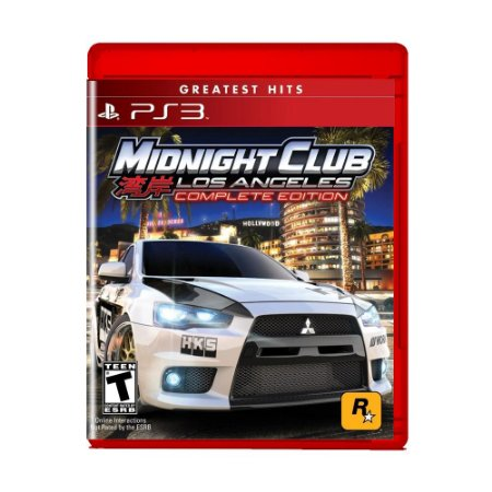 Jogo Midnight Club Los Angeles Complete Edition - PS3