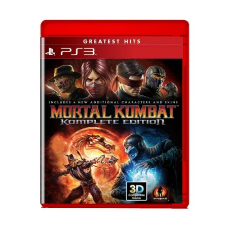 Jogo Mortal Kombat (Greatest Hits) - PS3