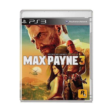Jogo Max Payne 3 - PS3