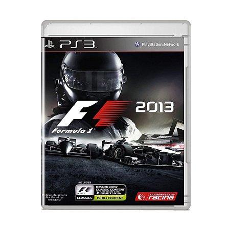 Jogo F1 2013 - PS3