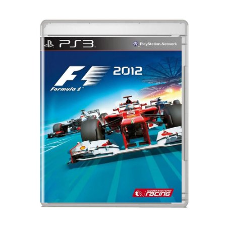 Jogo F1 2012 - PS3