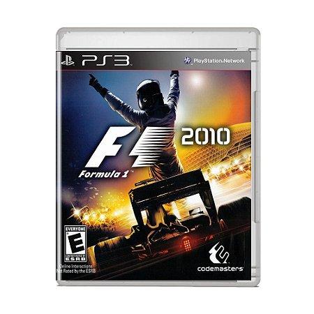 Jogo F1 2010 - PS3