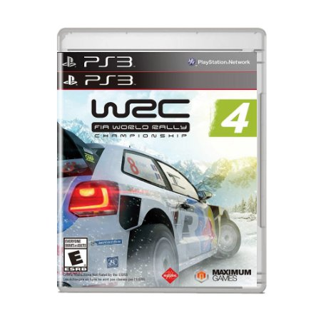 Jogo WRC 4: Fia World Rally Championship - PS3