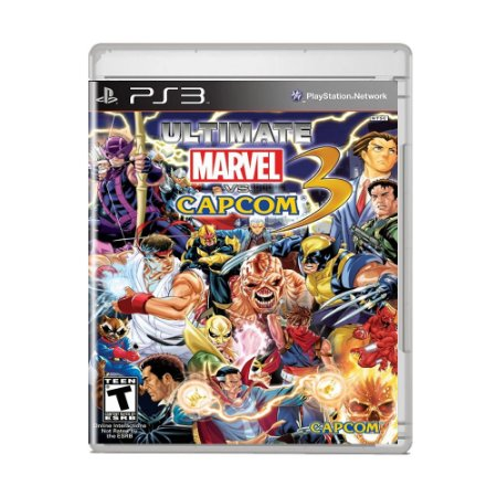 Jogo Ultimate Marvel vs Capcom 3 - PS3