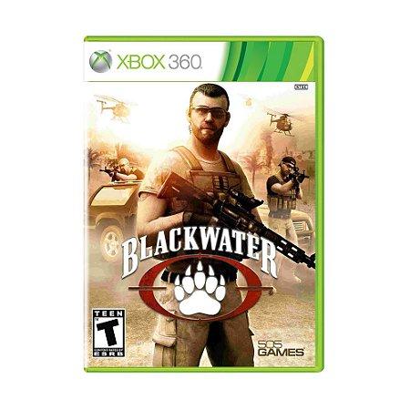 Jogo Black Water - Xbox 360