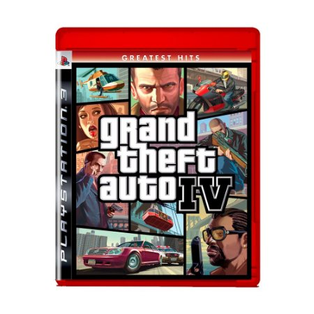 Jogo Grand Theft Auto IV ( Greatest Hits ) - PS3