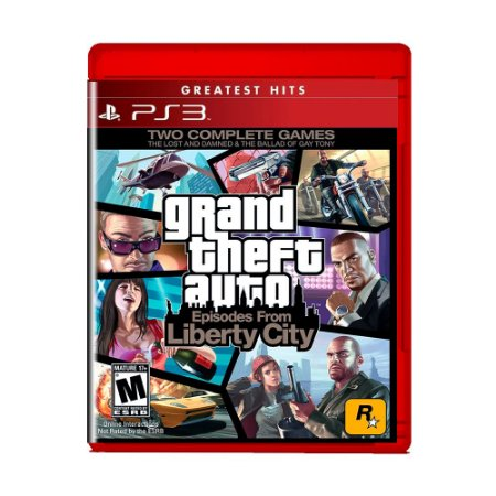 Jogo Grand Theft Auto: Episodes From Liberty City ( Greatest Hits ) - PS3