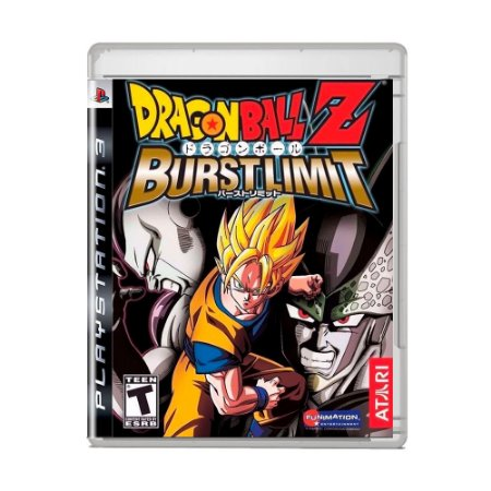 Jogo Dragon Ball Z: Burst Limit - PS3