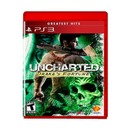 Jogo Uncharted: Drake's Fortune (Greatest Hits) - PS3
