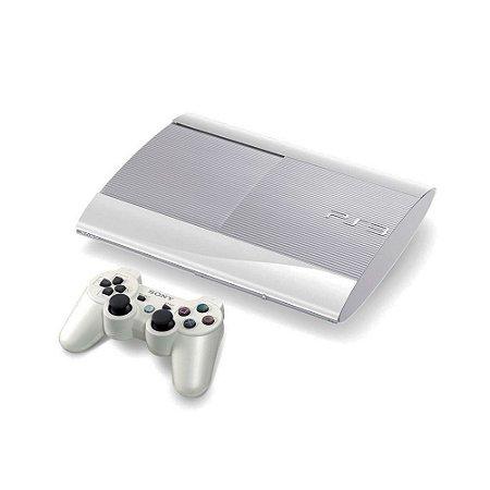 Console PlayStation 3 Super Slim 250GB Branco - Sony
