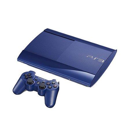 Console PlayStation 3 Super Slim 250GB Azul - Sony
