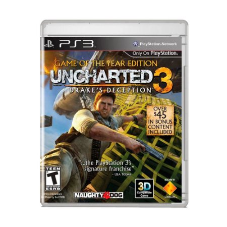 Jogo Uncharted 3: Drake's Deception ( Game of The Year Edition ) - PS3