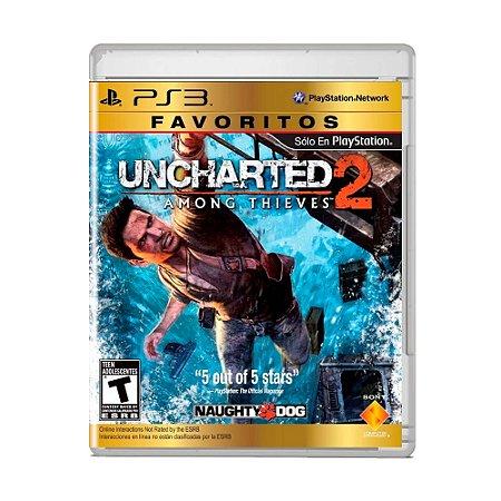 Jogo Uncharted 2: Among Thieves ( Edição Favoritos ) - PS3