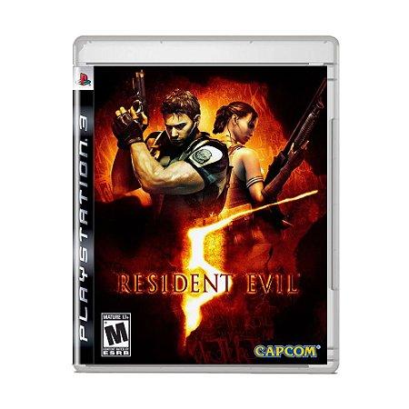 Jogo Resident Evil 5 (Capa Reimpressa) - PS3