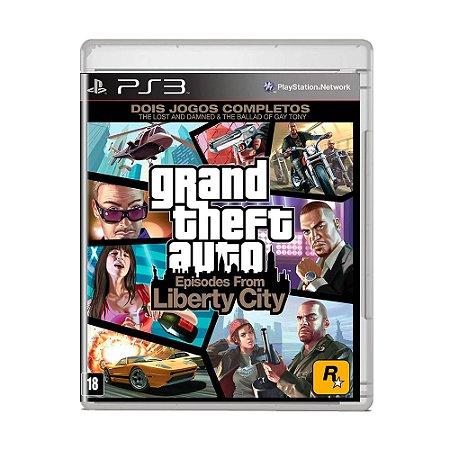 Jogo Grand Theft Auto: Episodes From Liberty City - (Capa Reimpressa) - PS3