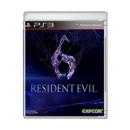 Jogo Resident Evil 6 (Capa Reimpressa) - PS3