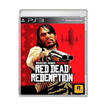 Jogo Red Dead Redemption (Capa Reimpressa) - PS3