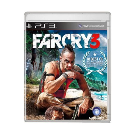 Jogo Far Cry 3 (Capa Reimpressa) - PS3