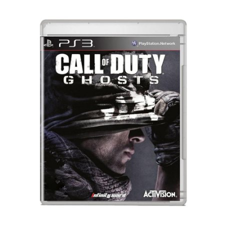 Jogo Call of Duty: Ghosts (Capa Reimpressa) - PS3