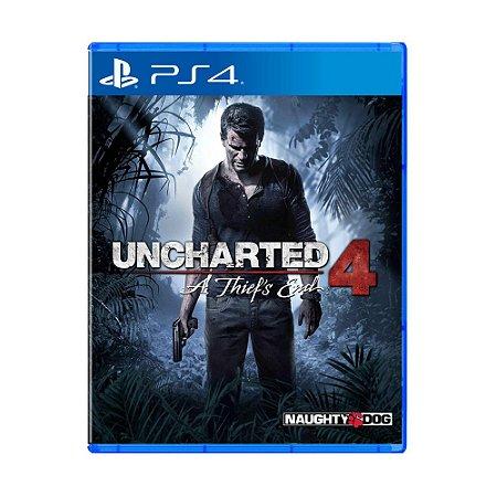 Jogo Uncharted 4: A Thief's End (Capa Reimpressa) - PS4