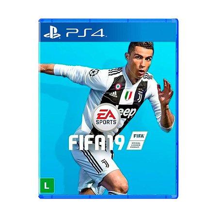 Jogo Fifa 19 (Capa Reimpressa) - PS4