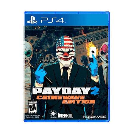 Jogo Jogo Payday 2: Crimewave Edition (Capa Reimpressa) - PS4