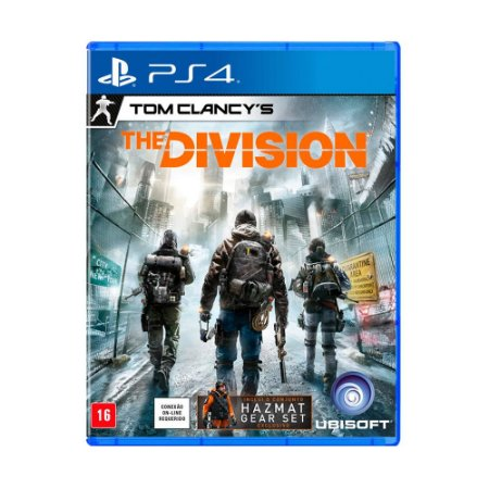 Jogo The Division (Capa Reimpressa) - PS4