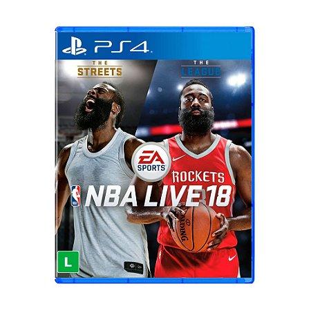 Jogo NBA Live 18 (Capa Reimpressa) - PS4