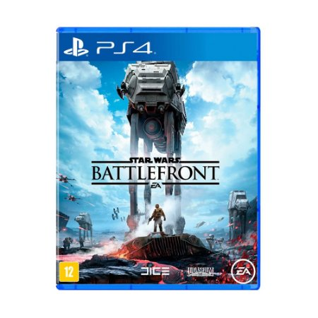 Jogo Star Wars: Battlefront (Capa Reimpressa) - PS4