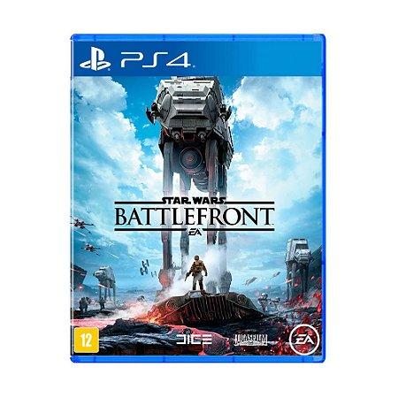 Jogo Star Wars: Battlefront (Capa Reimpressa) - PS4