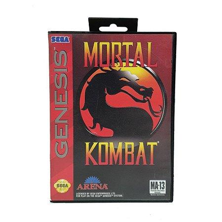 Jogo Mortal Kombat - Mega Drive
