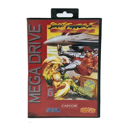 Jogo Street Fighter II: Special Champion Edition - Mega Drive