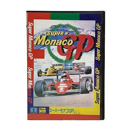 Jogo Super Monaco GP - Mega Drive