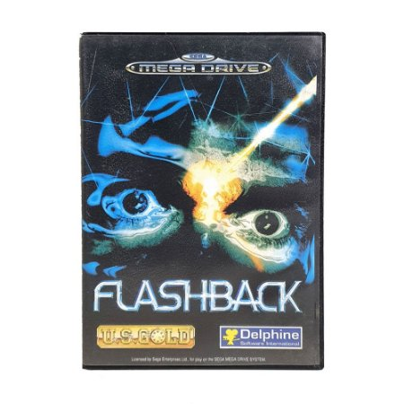 Jogo Flashback: The Quest for Identity - Mega Drive