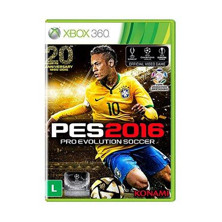 Jogo Pro Evolution Soccer 2016 (Capa Reimpressa) - Xbox 360