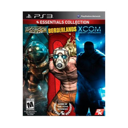 Jogo Bioshock + Borderlands + Xcom Enemy Unknown (2K Essentials Collection) - PS3