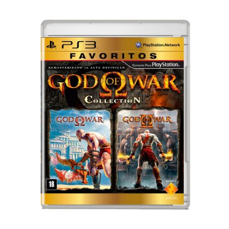 Jogo God of War Collection (Favoritos) - PS3