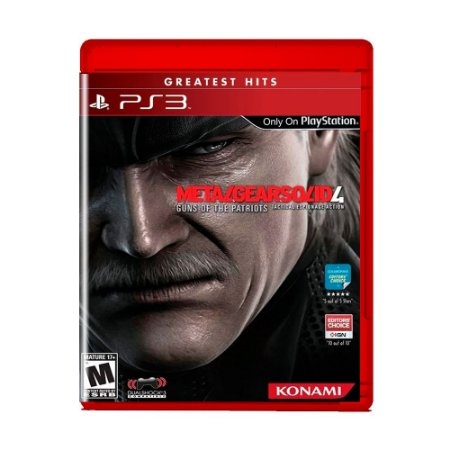 Jogo Metal Gear Solid 4: Guns of the Patriots (Greatest Hits) - PS3