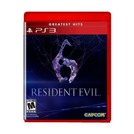 Jogo Resident Evil 6 (Greatest Hits) - PS3