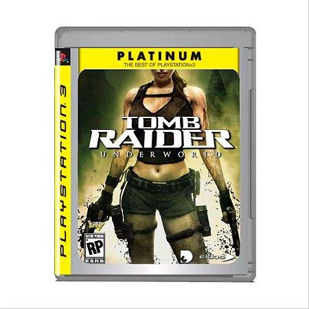 Jogo Tomb Raider Underworld (Platinum Hits) - PS3